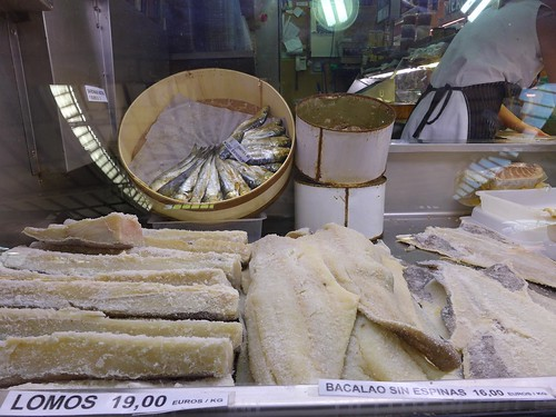 Mercat Valencia cured fish