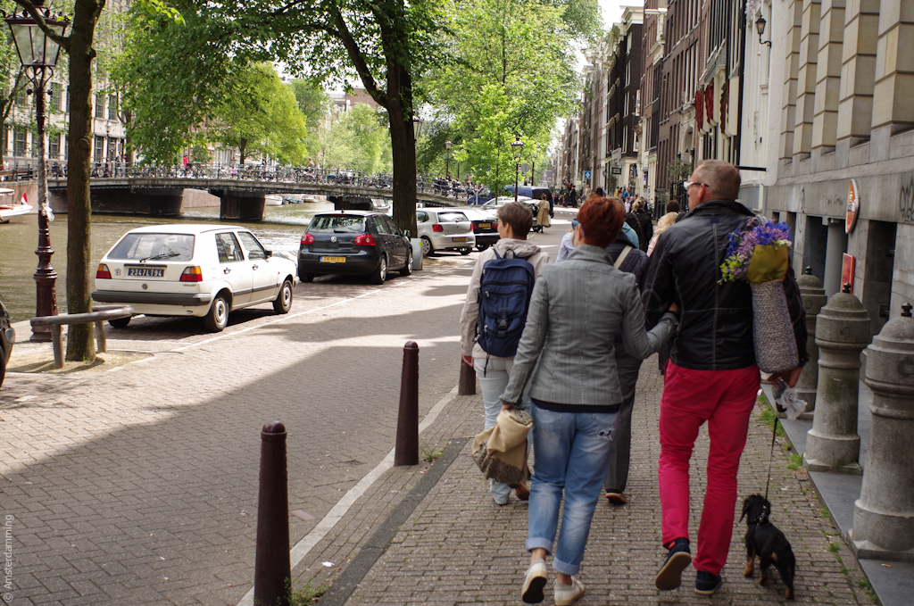 Amsterdam, People on the Street
