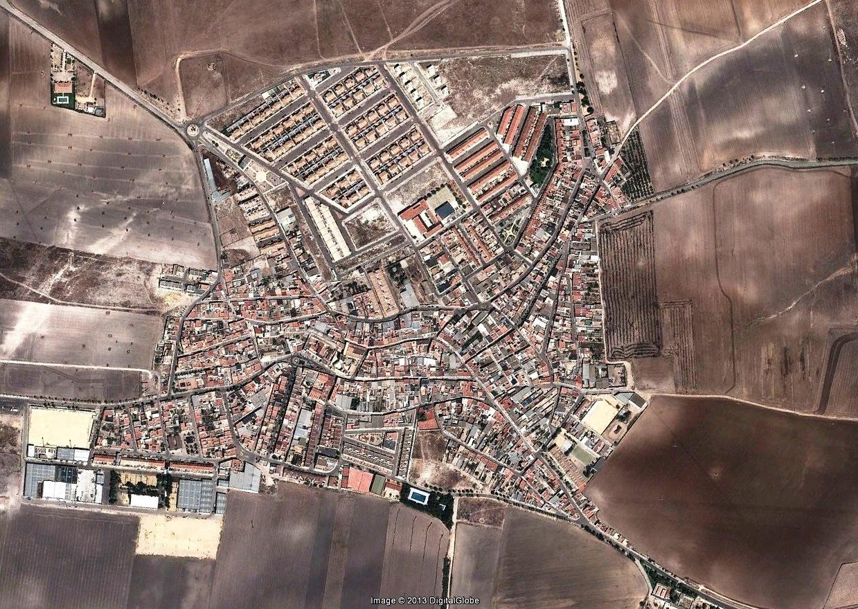 después, urbanismo, foto aérea,desastre, urbanístico, planeamiento, urbano, construcción, Los Molares, Sevilla