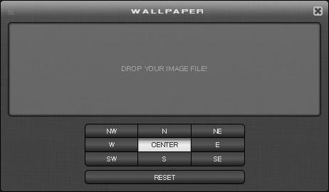 WALLウィンドウ