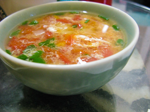 chinese Tomato Egg Drop Soup