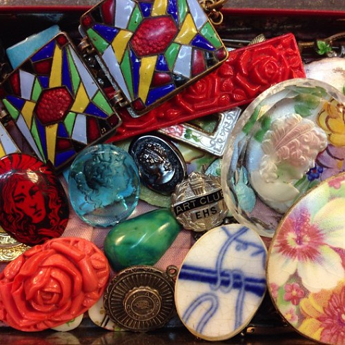 Mama's treasure box.