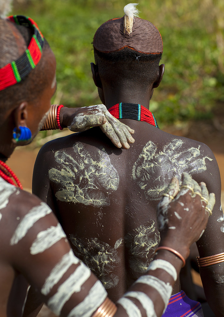 Image result for Body Paint and Mud african tribes