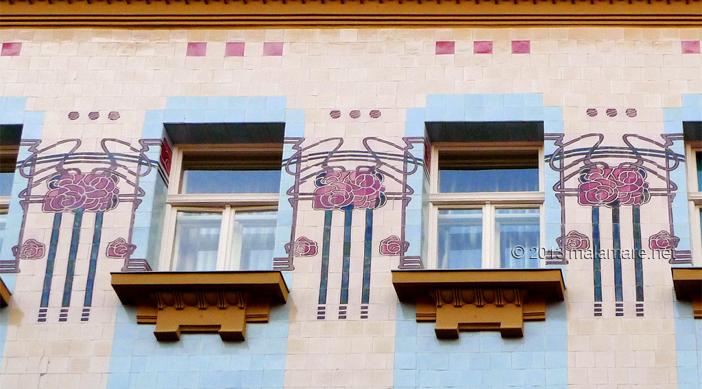 Kallina house, Zagreb, Art Deco inspiration