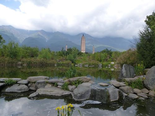 Yunnan13-Dali-1. Pagodes-étang (4)