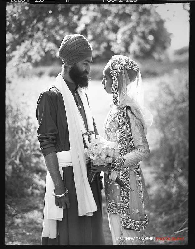 Contax 645 Asian Wedding