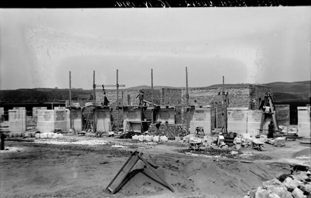 Estación de ferrocarril de Toledo el 16 de abril de 1914  © Archivo Histórico Ferroviario del Museo del Ferrocarril de Madrid. Fotografía de F. Salgado. Signatura 0469-IF MZA 0-8
