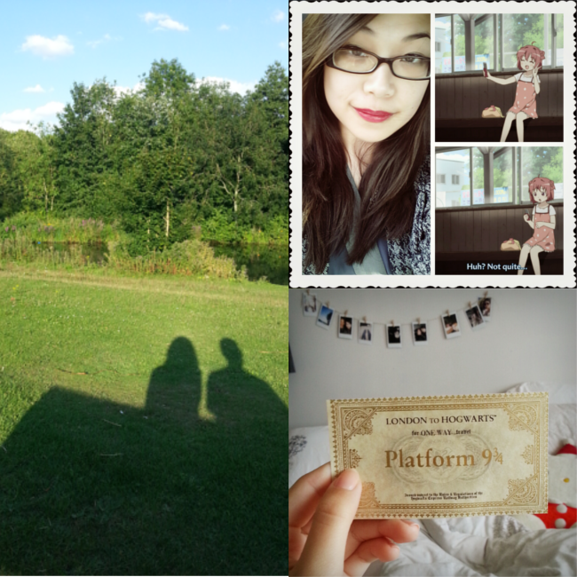 Daisybutter - UK Style and Fashion Blog: sunday selca, weekend photo diary, harry potter, september 1st, hogwarts express