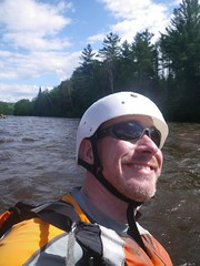rafting on the Dead River