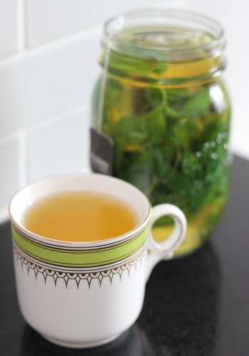 moroccan mint tea, for one or more