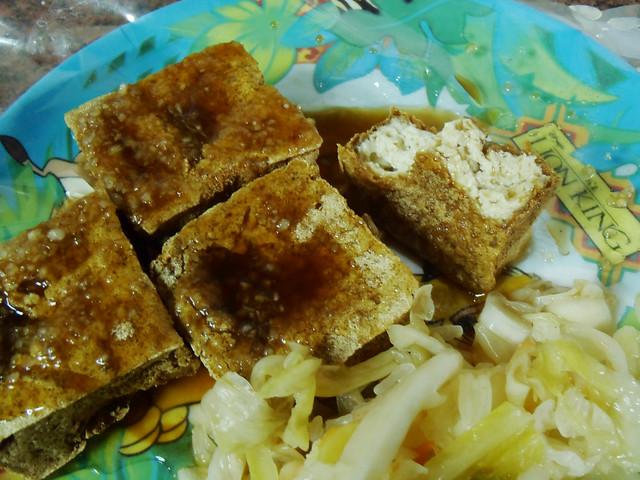 鴻達臭豆腐、大腸麵線
