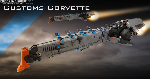 ULTARAN CUSTOMS OFFICER CORVETTE