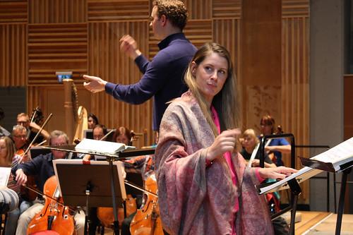 Malin Byström repeterar Arabella.