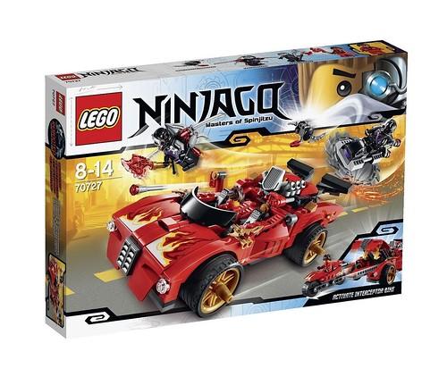 LEGO Ninjago 70727 Box