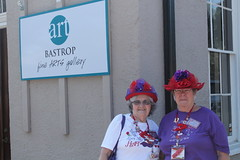 Red Hat Society Ladies in Bastrop 2014 April (2)