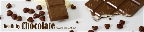 Blog-Event CVIII - Death by Chocolate (Einsendeschluss 15. Mai 2015)