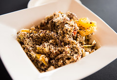 Quinoa Salad with Hereford Beef Tips