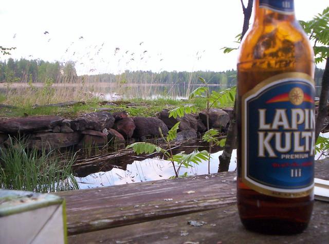 Cerveza en primavera