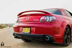 automobile, automotive exterior, wheel, vehicle, automotive design, mazda, rim, bumper, land vehicle, mazda rx-8,