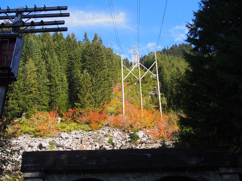 Power Lines Over Snoqualmie Tunnel