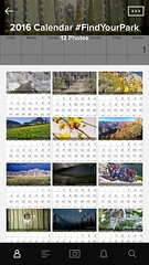 #FindYourPark calendars