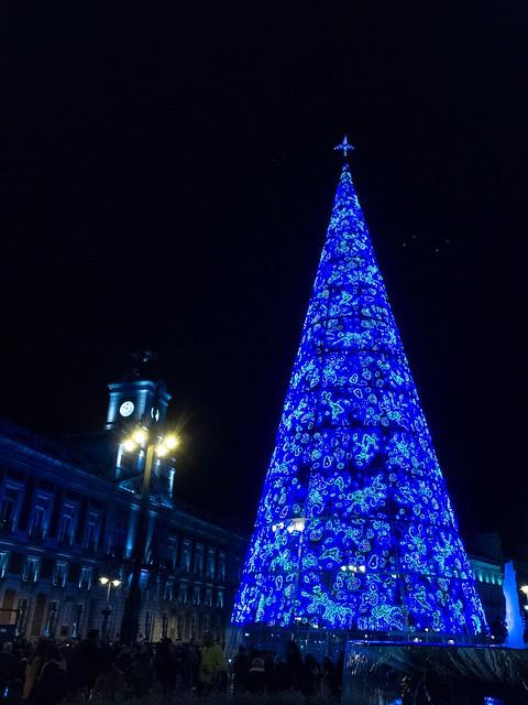 Navidad en Madrid, Apple iPhone SE, iPhone SE back camera 4.15mm f/2.2