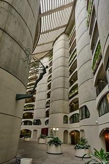 River City atrium.
