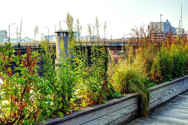 Riverwalk near the St Paul Avenue Bridge