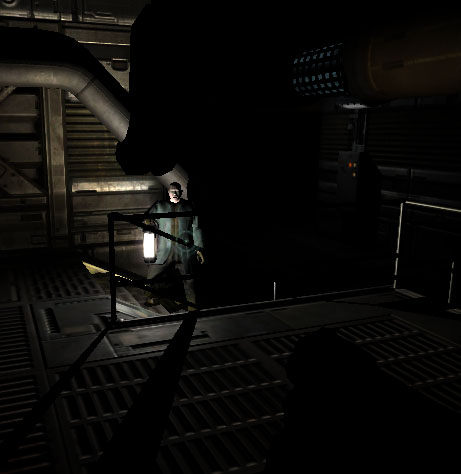 cool doom3 lighting