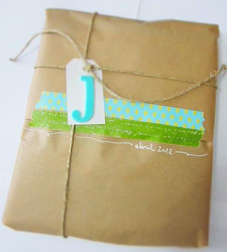 Plata y chocolate reciclaje empaquetado de regalos - Empaquetado de regalos ...