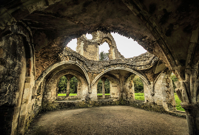 Waverley Abbey Ruins by Simon & His Camera