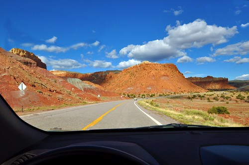 Ghost Ranch Through The Windshield