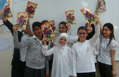 Visa and Al Dhafra School to help children become financial super heroes