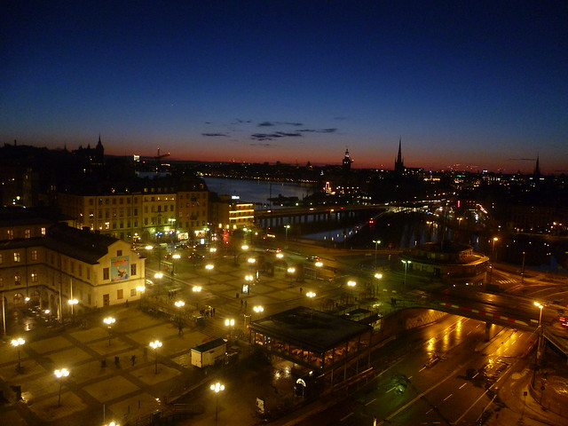 Stockholm, Sweden - Gondolen View