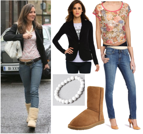 Kate Middleton casual look for less - ugg boots
