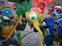 """MEGA MUTANTS"" TEENAGE MUTANT NINJA TURTLES :: NEEDLENOSE xxvii (( 1990 ))"