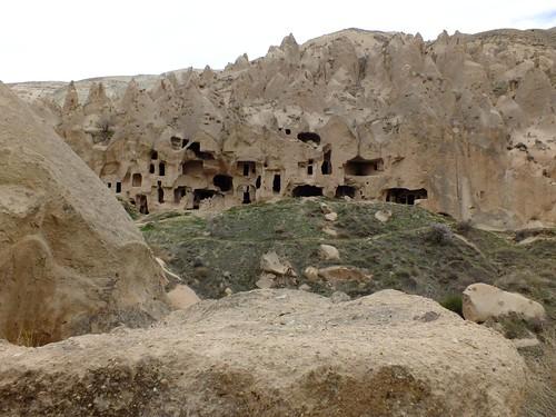 Zelve, Capadocia, Turquía
