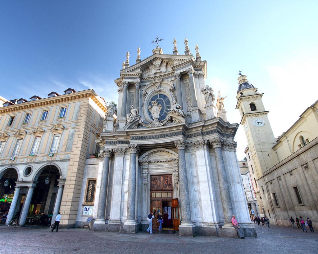 L'église de Santa Cristina sur la Piazza San Carlo de Turin - Photo de Francesco chicco_u