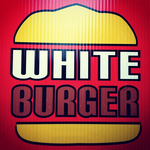 Wish I Wasn't Cleansing - White Burger #food #sign #design