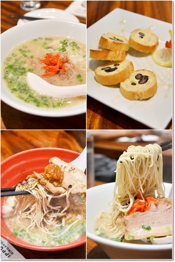 Ramen @ Ippudo, Mandarin Gallery & Cream Cheese w Black Beans