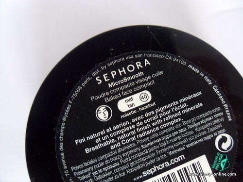 Sephora MicroSmooth Baked Face Powder