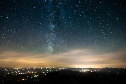 Milky Way Over Roanoke, VA