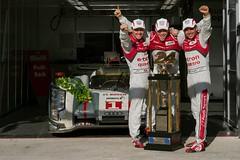 ルマン決勝11『Photo:Audi Sport』
