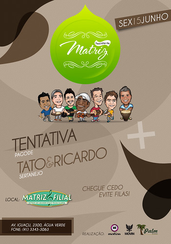 Flyer - Festinha da Matriz by chambe.com.br