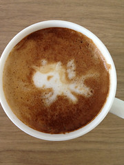 Today's latte, djangopony.