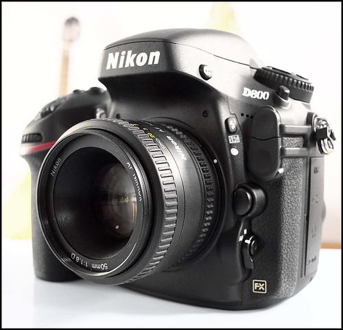 NIKON D800 50mm f/1.8D lens