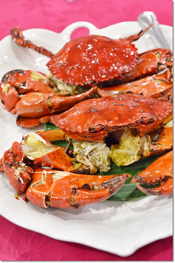 Seremban Style Grilled Crabs