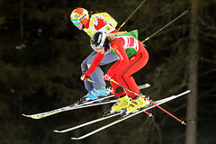 Marielle Thompson races to an 11th-place finish in the Innichen/San Candido ski cross World Cup in Italy.