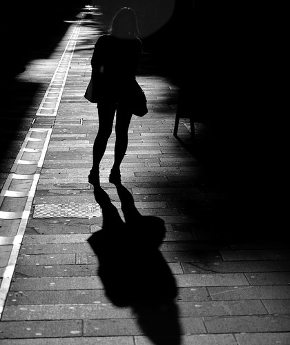 street morning light italy silhouette morninglight shadows walk perspective streetphotography trieste shopper sanvito kangaroobie friuliveneziagiulia streetaction robbierobinson nikond7000