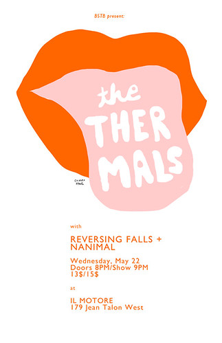 THE THERMALS POSTER by Ohara.Hale